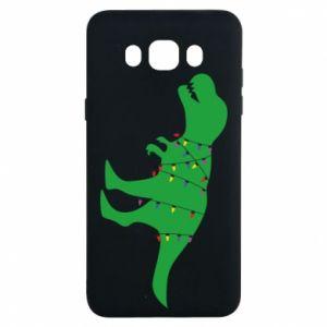 Samsung J7 2016 Case Dinosaur in a garland