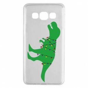 Etui na Samsung A3 2015 Dinozaur w girlandzie