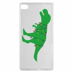 Huawei P8 Case Dinosaur in a garland