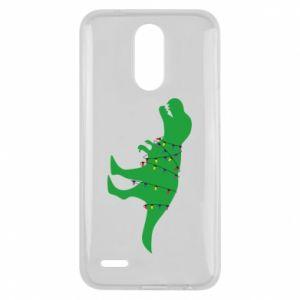 Lg K10 2017 Case Dinosaur in a garland
