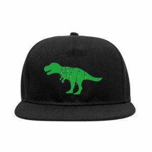 SnapBack Dinosaur in a garland