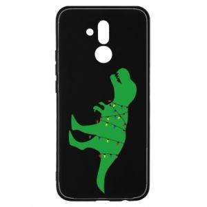 Etui na Huawei Mate 20 Lite Dinozaur w girlandzie