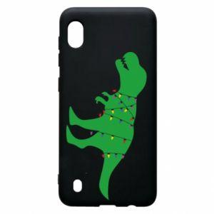 Etui na Samsung A10 Dinozaur w girlandzie