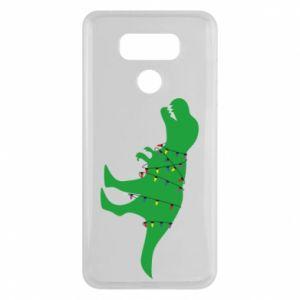 Etui na LG G6 Dinozaur w girlandzie