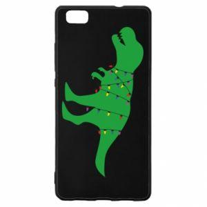 Etui na Huawei P 8 Lite Dinozaur w girlandzie