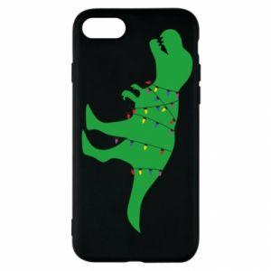 iPhone SE 2020 Case Dinosaur in a garland