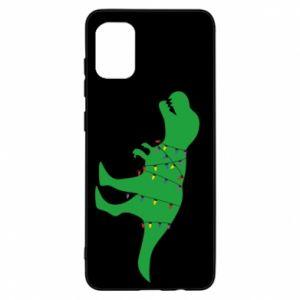 Etui na Samsung A31 Dinozaur w girlandzie