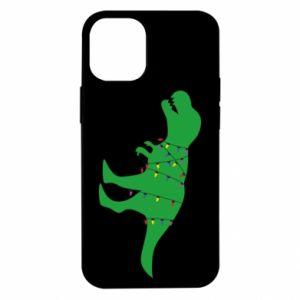 Etui na iPhone 12 Mini Dinozaur w girlandzie