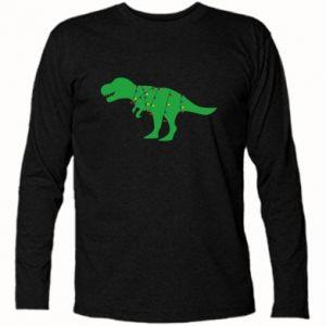 Koszulka z długim rękawem Dinozaur w girlandzie