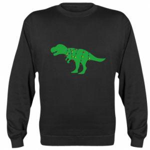 Sweatshirt Dinosaur in a garland