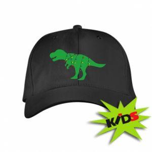 Dziecięca czapeczka z daszkiem Dinozaur w girlandzie