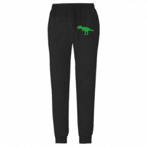 Męskie spodnie lekkie Dinosaur in a garland
