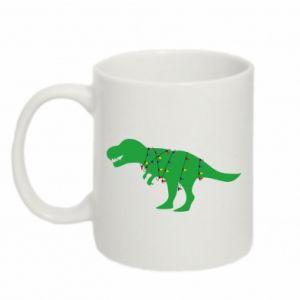Kubek 330ml Dinozaur w girlandzie