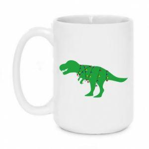 Kubek 450ml Dinozaur w girlandzie