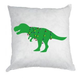 Pillow Dinosaur in a garland