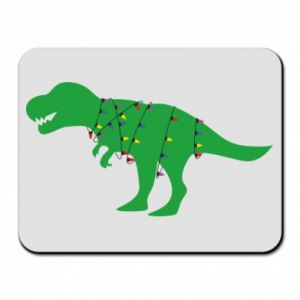 Mouse pad Dinosaur in a garland