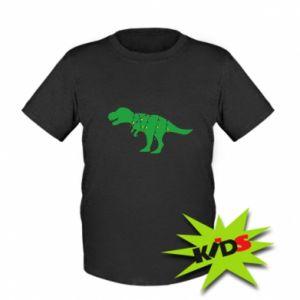Kids T-shirt Dinosaur in a garland
