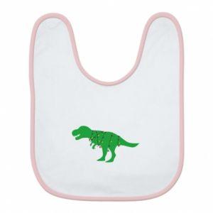 Bib Dinosaur in a garland