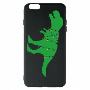 Etui na iPhone 6 Plus/6S Plus Dinozaur w girlandzie