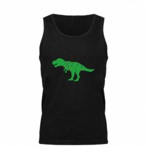 Men's t-shirt Dinosaur in a garland