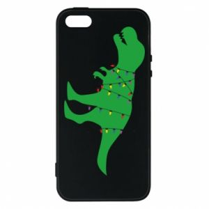 Phone case for iPhone 5/5S/SE Dinosaur in a garland