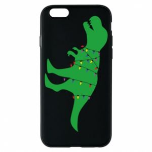 Etui na iPhone 6/6S Dinozaur w girlandzie