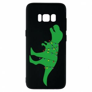 Phone case for Samsung S8 Dinosaur in a garland