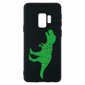 Phone case for Samsung S9 Dinosaur in a garland