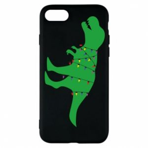 Phone case for iPhone 8 Dinosaur in a garland