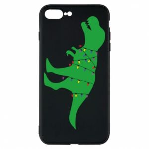 iPhone 8 Plus Case Dinosaur in a garland