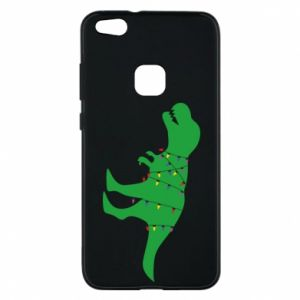 Phone case for Huawei P10 Lite Dinosaur in a garland
