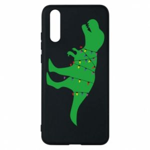 Phone case for Huawei P20 Dinosaur in a garland