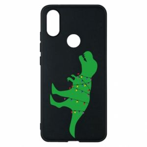 Phone case for Xiaomi Mi A2 Dinosaur in a garland
