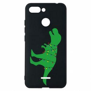 Phone case for Xiaomi Redmi 6 Dinosaur in a garland