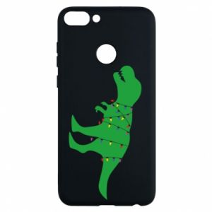 Phone case for Huawei P Smart Dinosaur in a garland