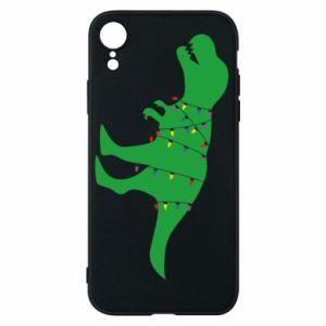 iPhone XR Case Dinosaur in a garland