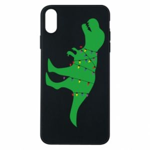 Phone case for iPhone Xs Max Dinosaur in a garland