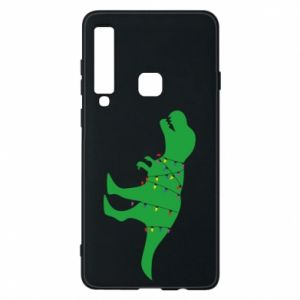 Phone case for Samsung A9 2018 Dinosaur in a garland