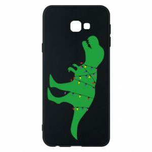 Phone case for Samsung J4 Plus 2018 Dinosaur in a garland