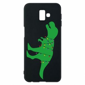 Phone case for Samsung J6 Plus 2018 Dinosaur in a garland