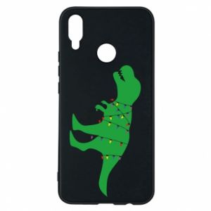 Phone case for Huawei P Smart Plus Dinosaur in a garland
