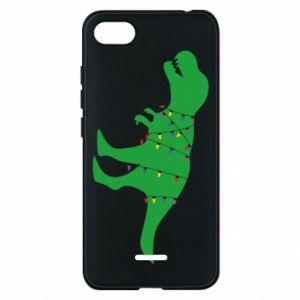 Phone case for Xiaomi Redmi 6A Dinosaur in a garland