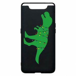 Phone case for Samsung A80 Dinosaur in a garland