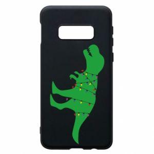 Samsung S10e Case Dinosaur in a garland