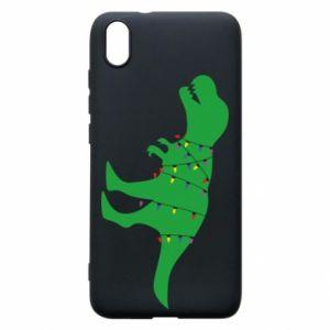 Xiaomi Redmi 7A Case Dinosaur in a garland