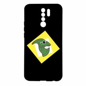 Etui na Xiaomi Redmi 9 Dinozaur w okularach