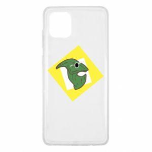 Etui na Samsung Note 10 Lite Dinozaur w okularach