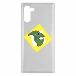 Etui na Samsung Note 10 Dinozaur w okularach