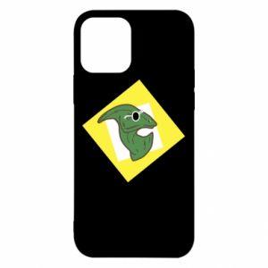 Etui na iPhone 12/12 Pro Dinozaur w okularach