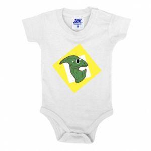 Body dziecięce Dinozaur w okularach